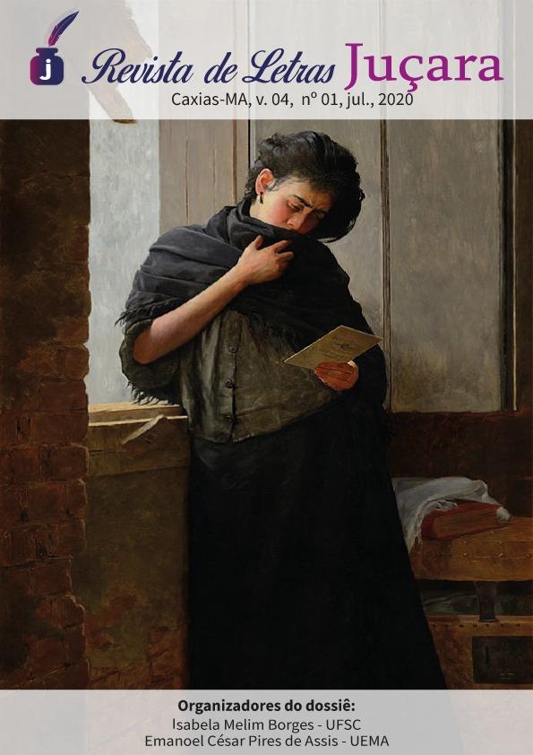 Capa: Saudade, Almeida Júnior, 1899. Óleo sobre tela, São Paulo. Pinacoteca do Estado.