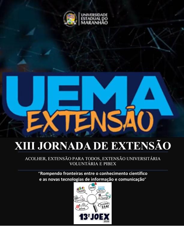 Visualizar v. 5 n. 1 (2021): Suplemento Especial - 13ª JOEX/UEMA